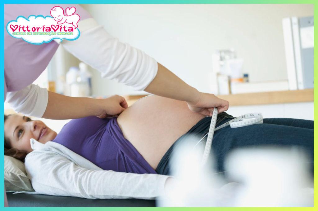 Apoio e supervisão do desenvolvimento da gravidez
